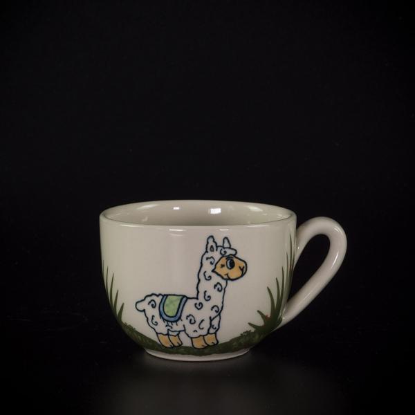 kleine tasse lama - katzentassen.de