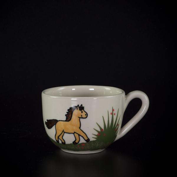 kleine tasse pferd - katzentassen.de