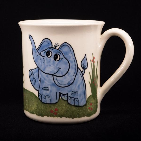 tasse mit henkel elefant - katzentassen.de