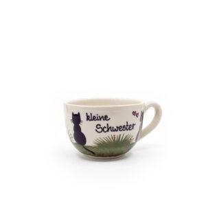 kleine schwester - katzentassen.de