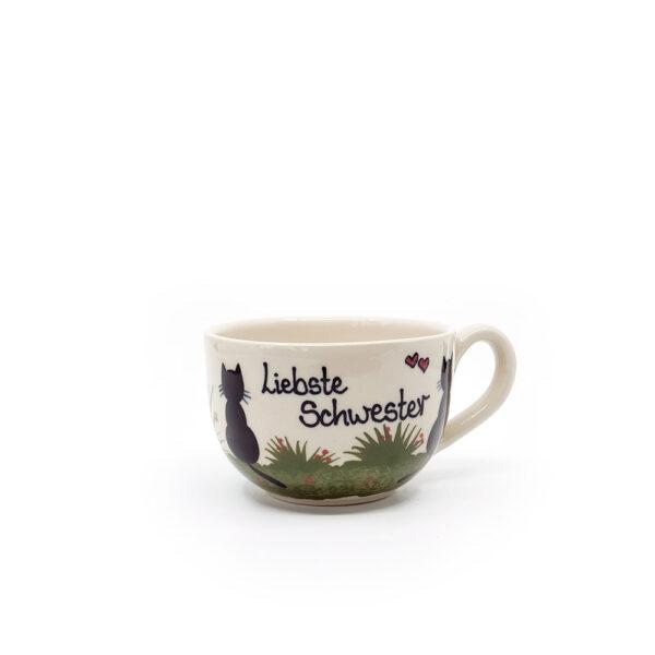 liebste schwester - katzentassen.de
